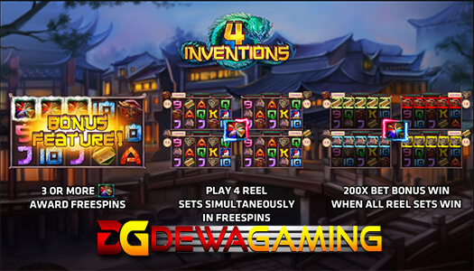 The Four Invention Joker Gaming